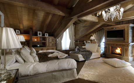 Grand Roche Master Bedroom - Courchevel 1850