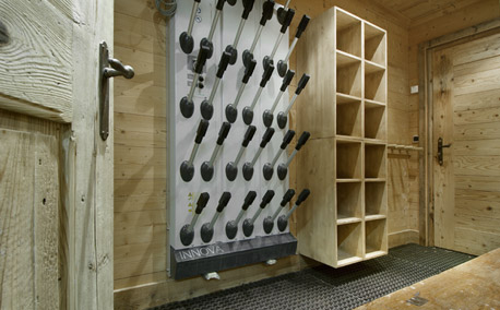 Grand Roche Ski Storage Room - Courchevel 1850