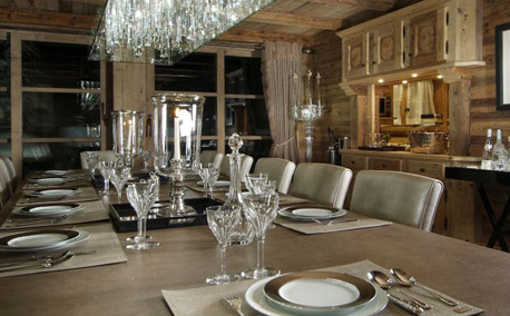 Grand Roche Dining Room - Courchevel 1850