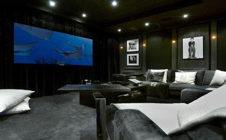 Grand Roche Cinema Room - Courchevel 1850